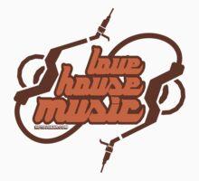 Love House Music Kids Tee