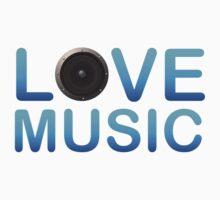 Love Music One Piece - Short Sleeve