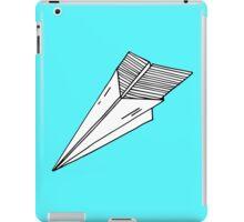 Old school paper plane iPad Case/Skin