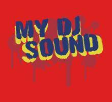 My DJ Sound Graffiti One Piece - Short Sleeve