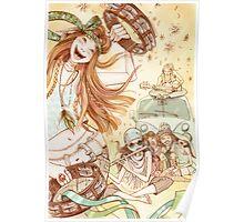Hippy Fiesta Poster