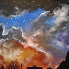 Northern night sky by Yorkspalette