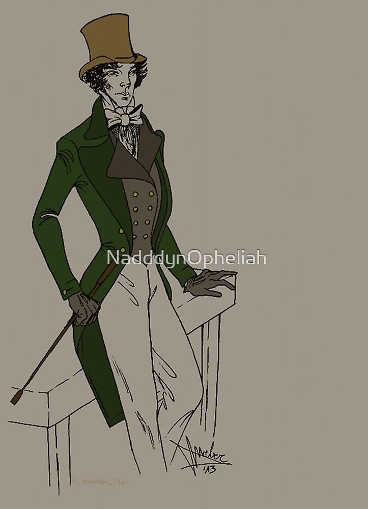 Sherlock - Oldschool  by NadddynOpheliah