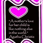A Mother's Love Art Deco Style by CanoeComsArt
