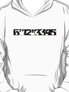 Record Sizes T-Shirt