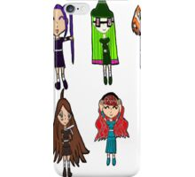 The All Mighty Catgirl Squad Chibi Iphone Case  iPhone Case/Skin