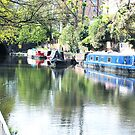 Islington's Regents Canal by copacic