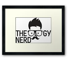 Theology Nerd by Theology Wear Framed Print