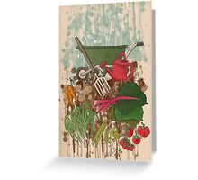 Veggie Garden Greeting Card