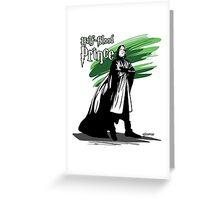 The Half Blood Prince Greeting Card