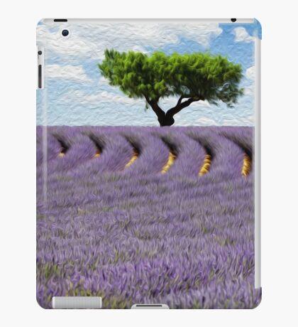 Lavender Field iPad Case/Skin