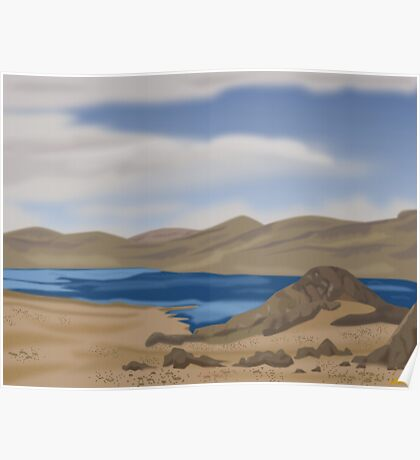 ANDES LAKE Poster