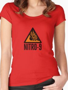 Dr Who: NITRO-9 Women's Fitted Scoop T-Shirt
