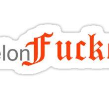 Melon Fxcker Sticker