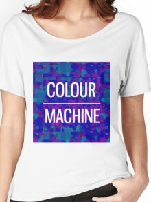 Colour Machine Women's Relaxed Fit T-Shirt