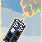 Up Goes the TARDIS by camdenrem