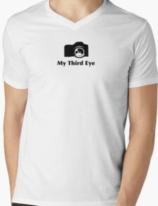 My third eye tee- See thru to shirt color Mens V-Neck T-Shirt