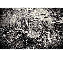 Corfe Castle Dorset England Photographic Print