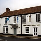 John O'Gaunt Inn Hungerford England by mlphoto