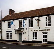 John O'Gaunt Inn Hungerford England by mlphoto