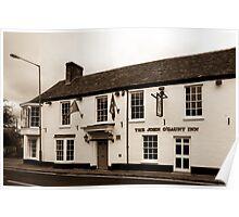 John O Gaunt Inn Hungerford England Poster