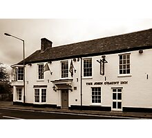 John O Gaunt Inn Hungerford England Photographic Print