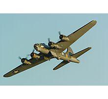 Boeing B17 Bomber Sally B Photographic Print