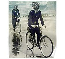 cybermen on bikes Poster