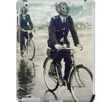 cybermen on bikes iPad Case/Skin