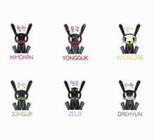 BAP - Bunnies   by TotoroXkawaii