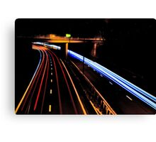 Fast Lane Canvas Print