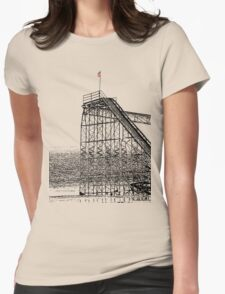 The Jet Star Rises Womens Fitted T-Shirt