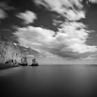 Seaford Needle B&W by willgudgeon