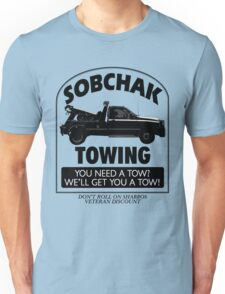 The Big Lebowski Inspired - Sobchak Towing - You Want a Toe? Unisex T-Shirt