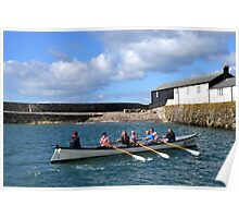 Watch That Harbour  Wall Poster