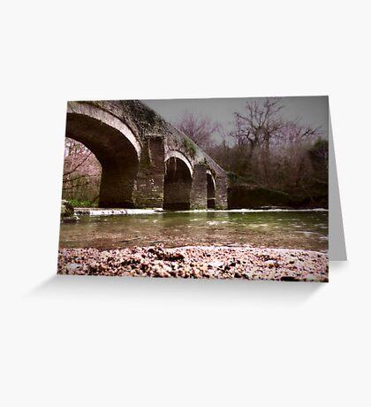 Plym Bridge Greeting Card