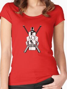 Dr Who: Ace - The first kick ass companion! Women's Fitted Scoop T-Shirt