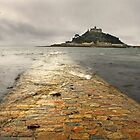 St Michael&#x27;s Mount by Lyn Evans