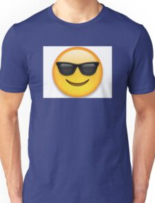 Emoji Cool Smiley Face Unisex T-Shirt