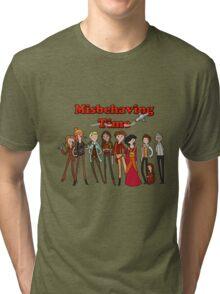 Misbehaving time Tri-blend T-Shirt
