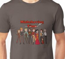 Misbehaving time Unisex T-Shirt