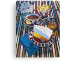 Lemon Meringue Canvas Print