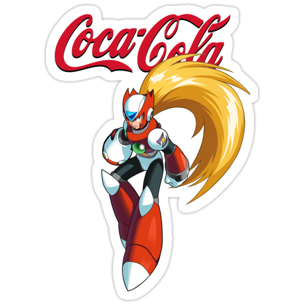 Mega Man X: Coca Cola Zero by holeymoley
