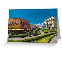 Plaza de la Paz Greeting Card