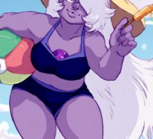 Beach Ready Amethyst Sticker