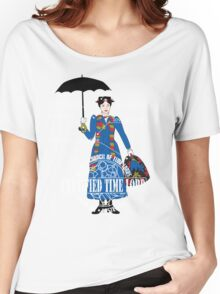 Mary Poppins is a Time Lord Women's Relaxed Fit T-Shirt