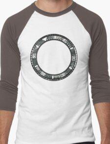 camo pattern rotating bezel Men's Baseball ¾ T-Shirt