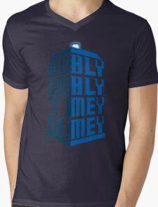 Wibbly wobbly Mens V-Neck T-Shirt