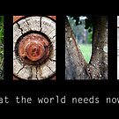 What the world needs now... by Kym McLeod