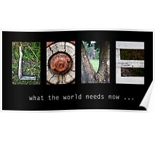 What the world needs now... Poster